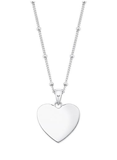 Amor Amor Kolye 925 Ayar Gümüş Zirkonlu - 2026024 Renksiz